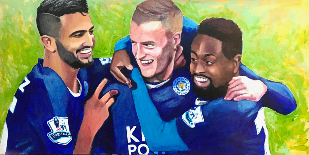 Leicester City Trio by Paul Barrand
