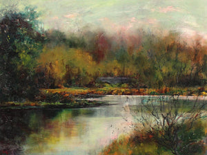 The Lake, Kedleston Hall by Lesley Griggs