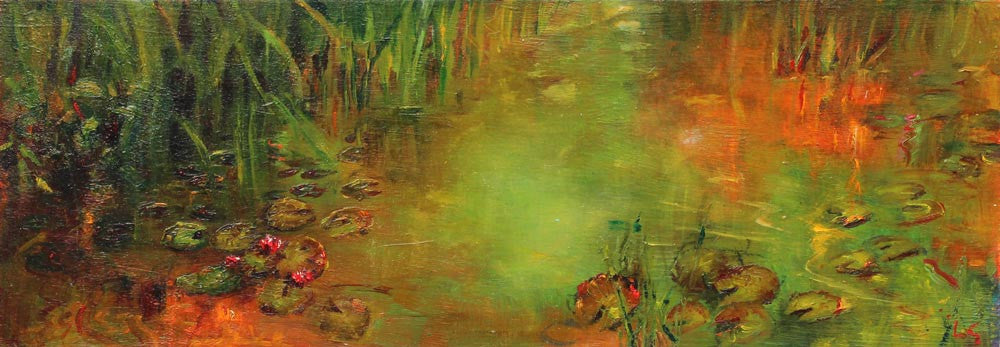 The Lily Pond By Lesley Griggs