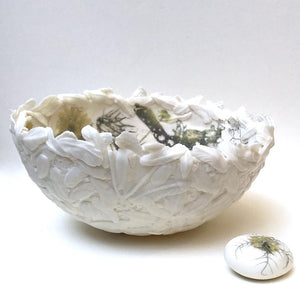 Large Nest and Pebble by Jennie McCall