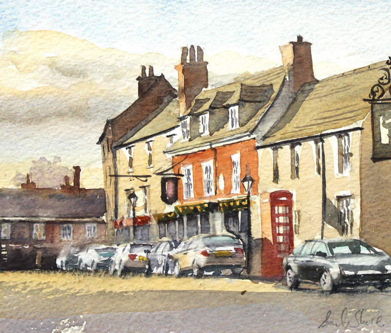 Main Street, Market Bosworth by Andy Shore