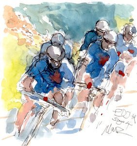 FDJ.FR, Stage 4 by Maxine Dodd