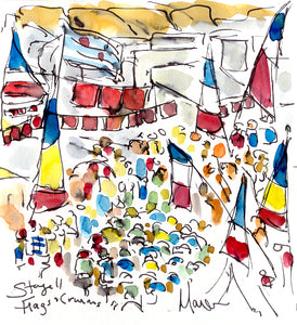 Flags and Caravans, Stage 11 by Maxine Dodd