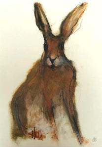Sitting Hare by Helen McChesney
