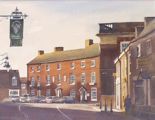 Morning Light, Market Bosworth by Andy Shore