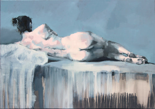 Reclining Nude by Scott Bridgwood