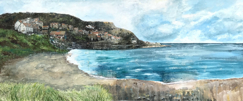 Runswick Bay by Sophie Oakley