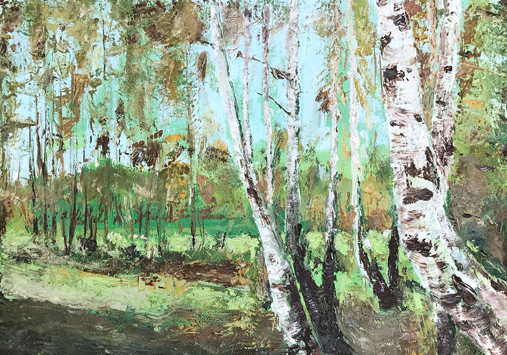 Birch Copse by Ralph Spence