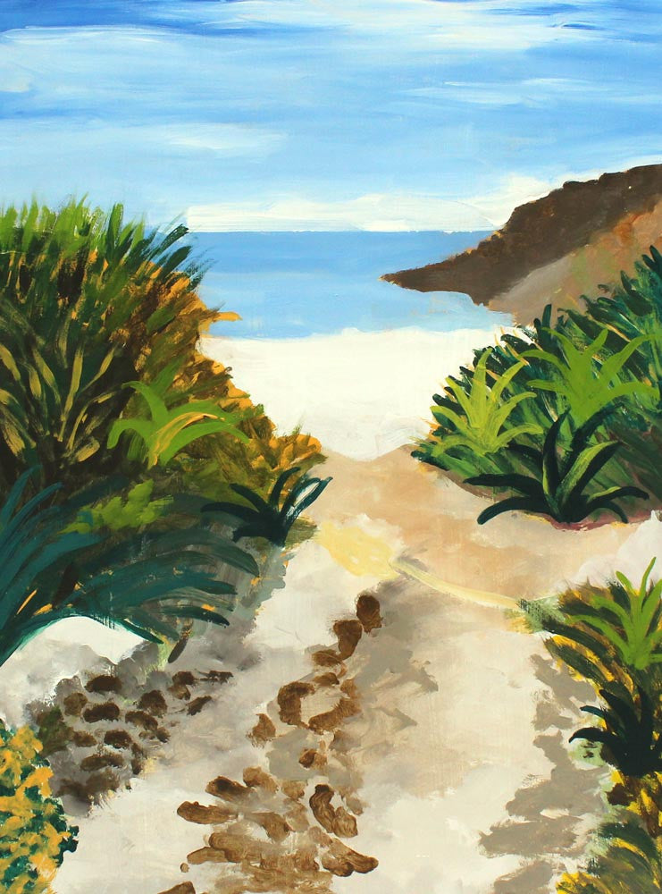 Path to the Sea by Roger Whiteway