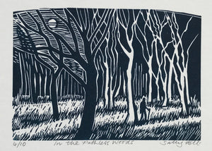 In the Pathless Woods by Sally Hill (unframed)