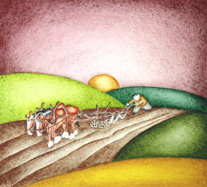 Ploughing by Paul Hainsworth