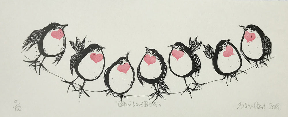 Robin Love Breasts by Alison Read