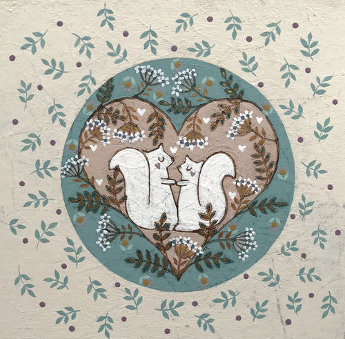 Love Squirrels by Helen Rhodes