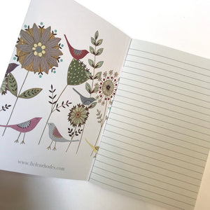 Notebook by Helen Rhodes