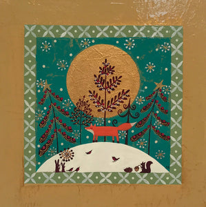 Christmas Foxy Lady by Helen Rhodes