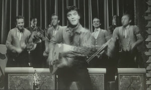 Elvis in King Creole by Martin Richardson