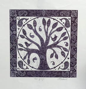 Tree of Life by Sue Rowland (unframed)