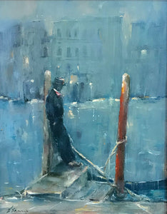 End of the Day (Venice) by Linda Sharman