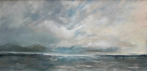 Looking Out to Sea by Linda Sharman