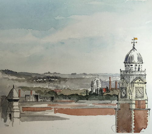 Three Towers and One Spire of Leicester by Douglas Smith
