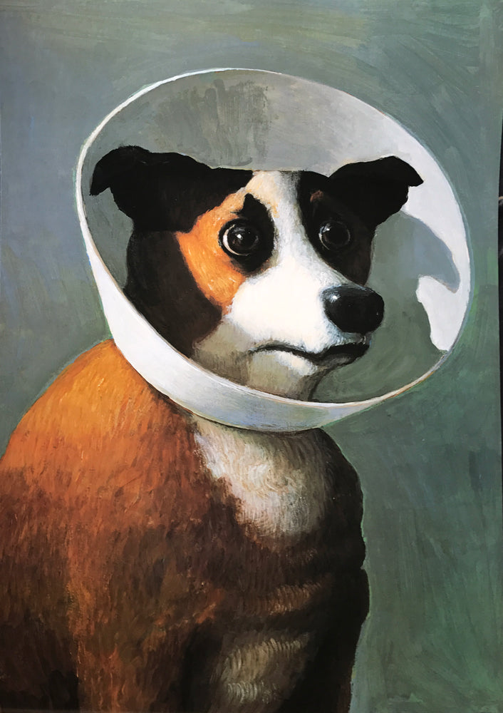 Sick Dog by Michael Sowa (unframed)
