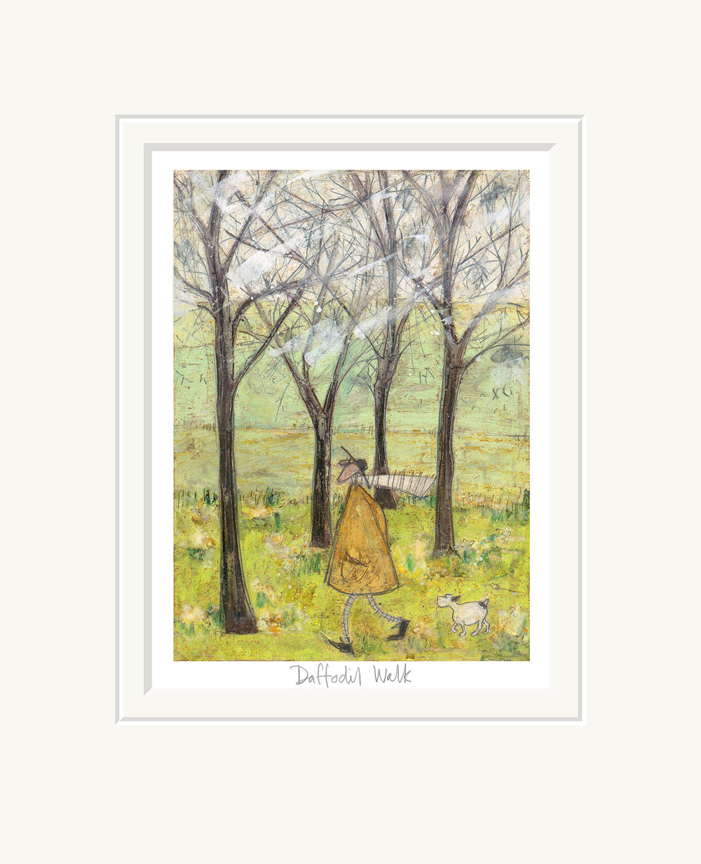 Daffodil Walk by Sam Toft