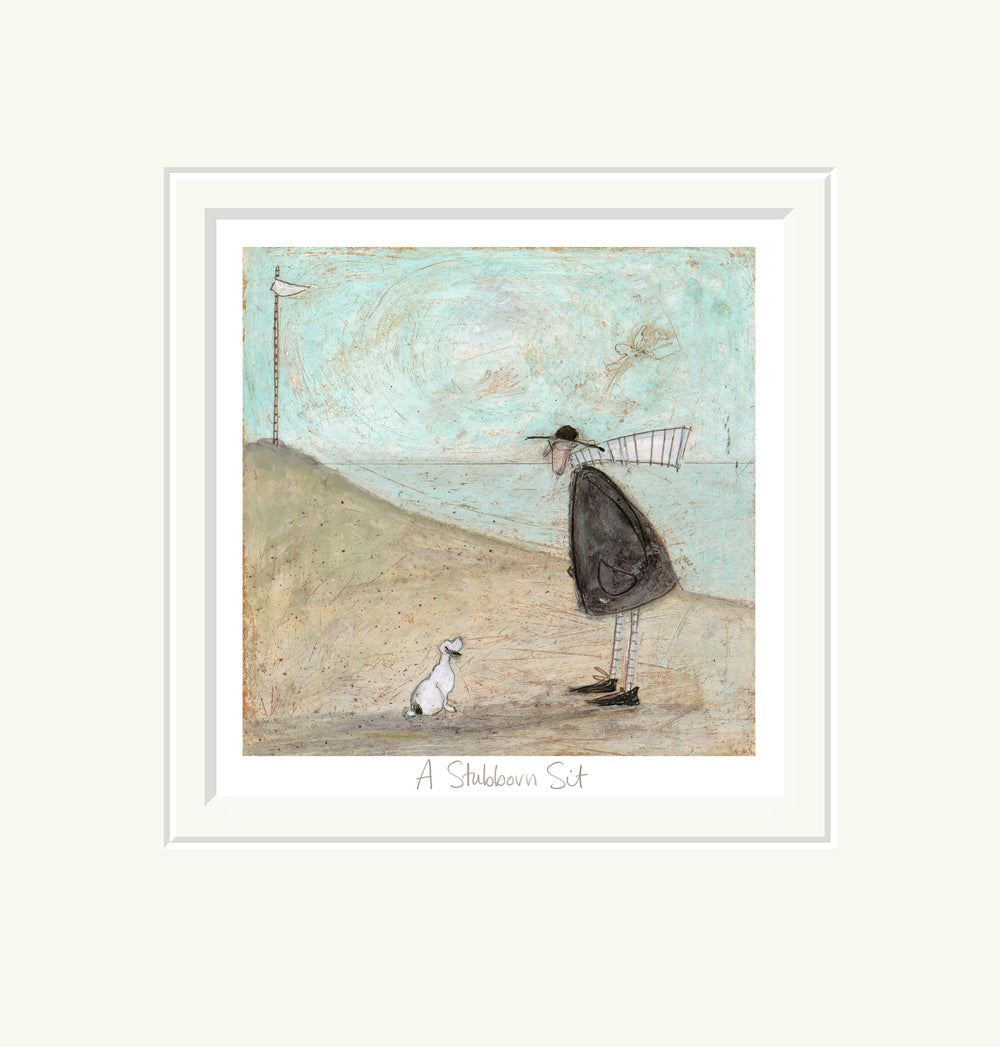 A Stubborn Sit by Sam Toft