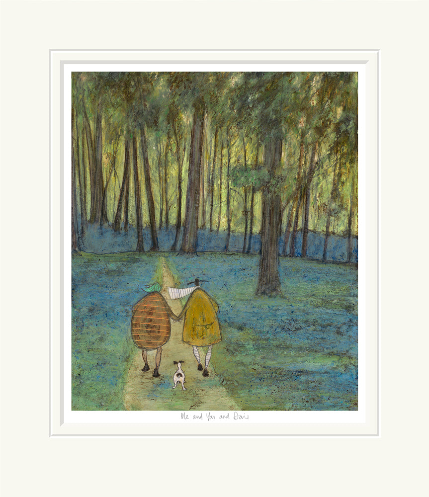 Me and You and Doris by Sam Toft