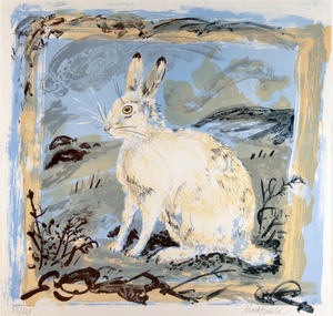 Mountain Hare by Mark Hearld
