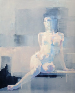 Seated Nude by Scott Bridgwood