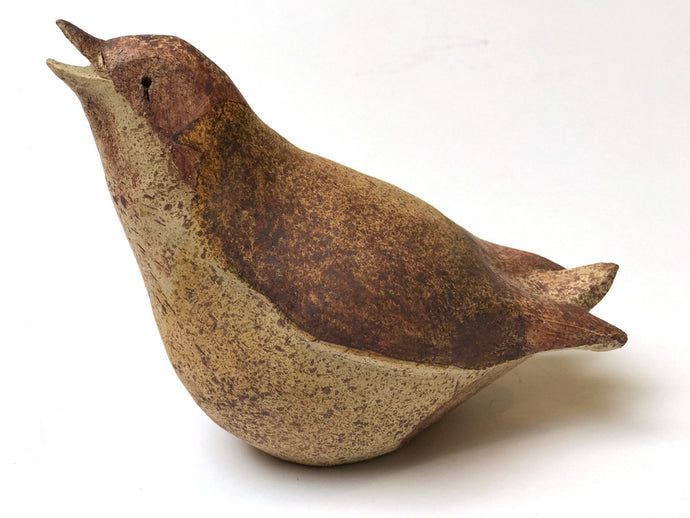 Bird (Open Beak) by Kath Daly