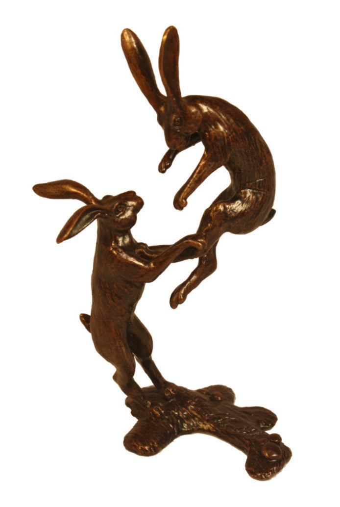 Boxing Hares by David Meredith