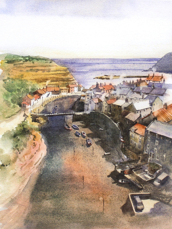 Staithes by Andy Shore