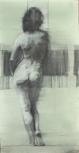 Standing Nude by Scott Bridgwood