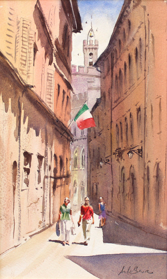 Saturday Afternoon, Siena by Andy Shore