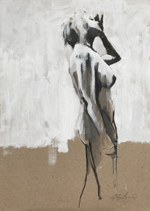 Study for Standing Nude by Scott Bridgwood