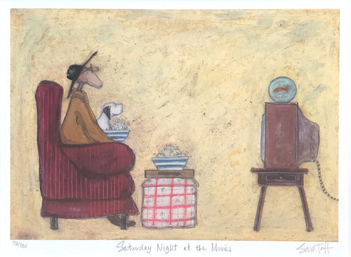 Saturday Night at the Movies by Sam Toft