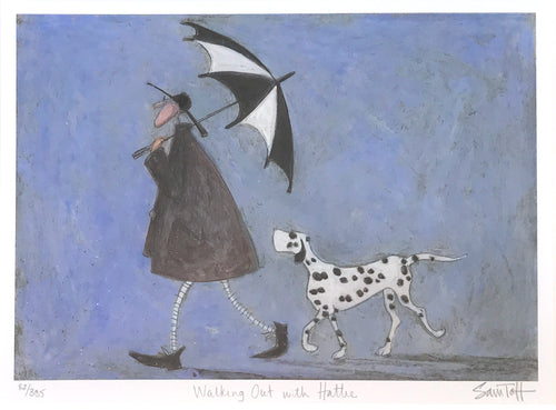 Walking Out with Hattie by Sam Toft