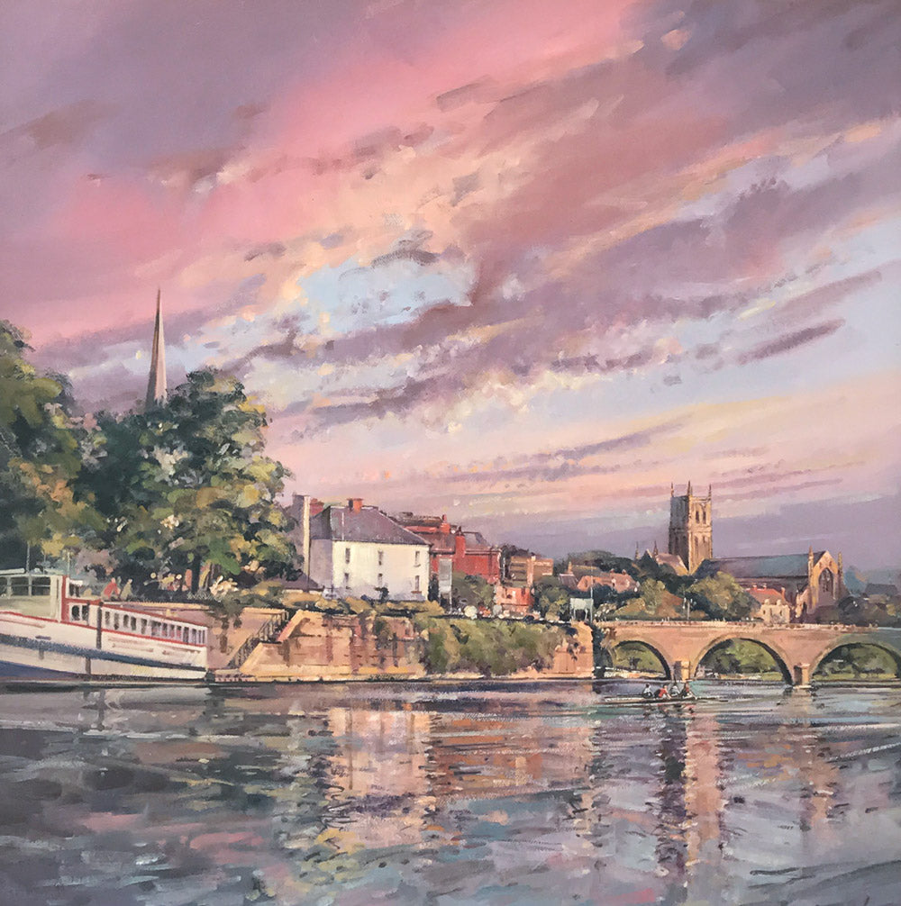 The Severn at Worcester by Terry Lord