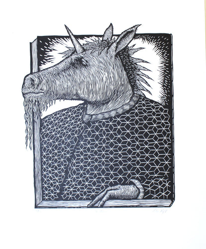 The Unicorn by Peter Rapp (unframed)