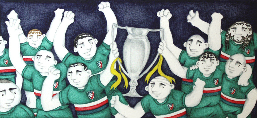 Leicester Tigers Champions 2013 by Paul Hainsworth