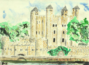 Tower of London by Stephen John Fox