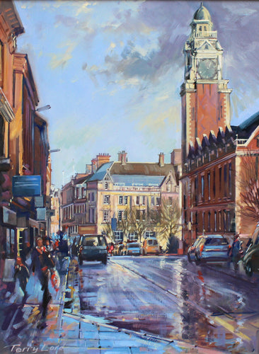 Town Hall, Leicester by Terry Lord
