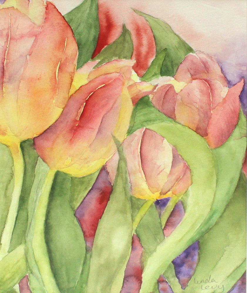 Tulips by Linda Levy