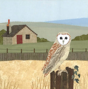 Barn Owl by Victoria Whitlam