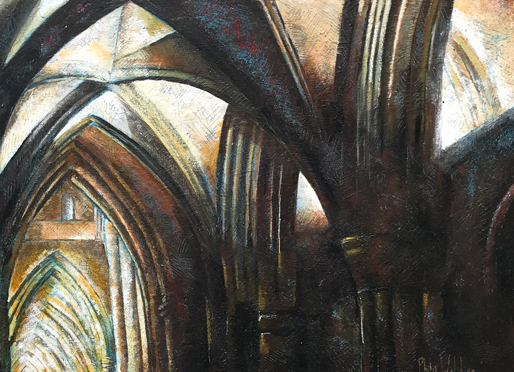 Southwark Cathedral, North Aisle by Philip Wilding