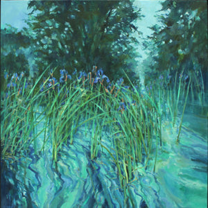 Water Irises by Christopher Bent