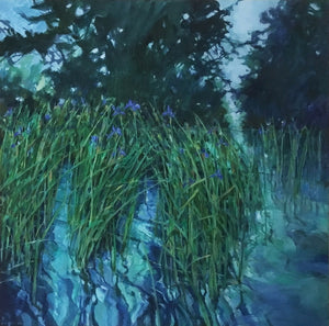 Watermeadow Blue Iris by Chris Bent