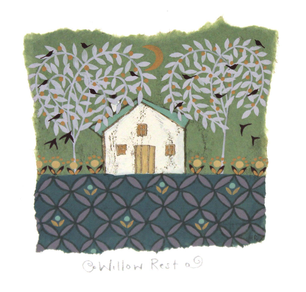 Willow Rest by Helen Rhodes (unframed)