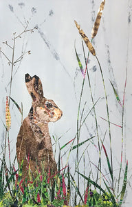 Brown Hare by Louise Wood